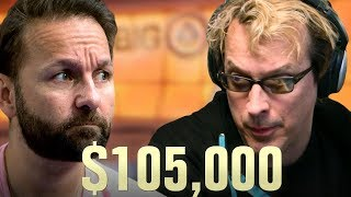 Download Daniel Negreanu BLOWS Phil Laak's MIND - High Stakes Poker Cash Game Video