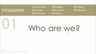 Download Marketing Plan Presentation Template Video