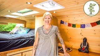 Download VanLife as Long Term Housing Solution for Solo Female + Epic Camper Van Tour Video