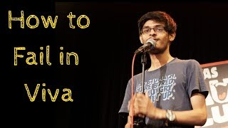 Download How to Fail in Viva | Stand-Up Comedy by Mohd Suhel(With Lyrics) Video