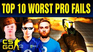 Download Top 10 Cringiest Pro Fails In CS:GO History Video