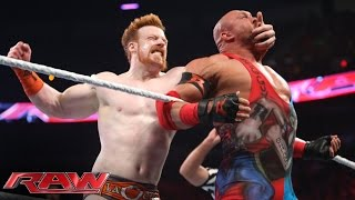 Download Roman Reigns, Sheamus & Rob Van Dam vs. Randy Orton & RybAxel: Raw, Aug. 18, 2014 Video