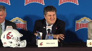 Download Valero Alamo Bowl Head Coaches Press Conference Dec. 6 Video