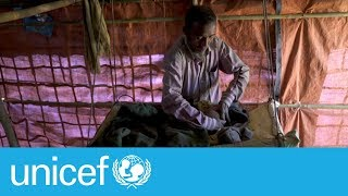 Download Refugee father built a house in 2 days | UNICEF Video