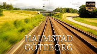 Download Train Driver's View: Halmstad to Göteborg Video
