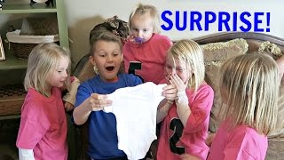 Download BABY SURPRISE | KIDS REACT Video