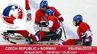 Download Czech Republic v Norway | Prelim | 2015 IPC Ice Sledge Hockey World Championships A-Pool, Buffalo Video