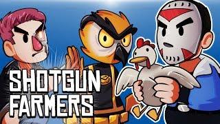 Download SHOTGUN FARMERS - CATCH THE CHICKEN!!!! Video