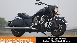 Download Indian MotorCycle Chief Dark Horse Test Ride Review - Bikeportal Video