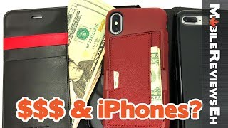 Download Top 10 iPhone X and iPhone 8 Wallet Cases - Which one SHOULD you get? Video