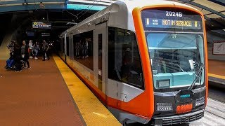 Download MUNI Metro: First Ride on the New LRV4 Train: S Shuttle: Embarcadero - West Portal Video