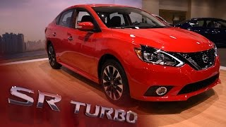 Download 2017 Nissan Sentra SR Turbo First Look - 2016 Miami Auto Show Video