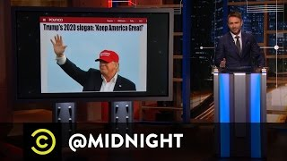 Download Donald Trump Plans to ″Keep America Great″ - @midnight with Chris Hardwick Video