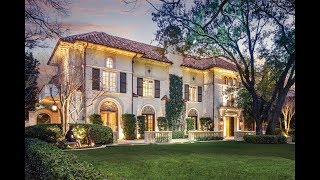 Download The Iconic Ferris Mansion in Highland Park, Texas Video