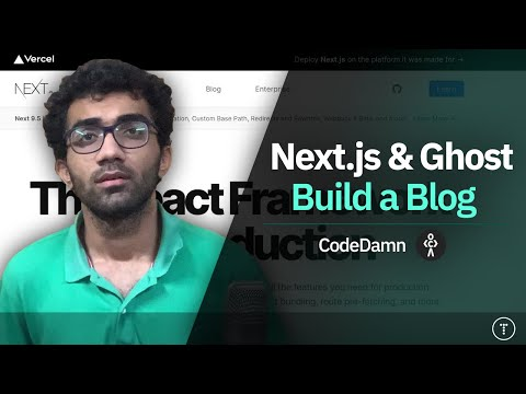Build a Blog With Next.js & Ghost