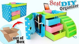 Download DIY ADORABLE ORGANIZER BOX USEFUL EVER // 32 Compartment for Keeping Everything Video