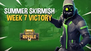 Download Summer Skirmish Week 7 Victory!! - Fortnite Tournament Gameplay - Ninja & Dr Lupo Video