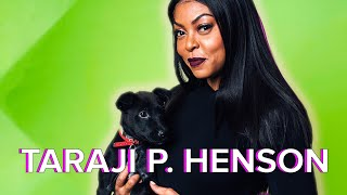 Download Taraji P. Henson Plays With Puppies While Answering Fan Questions Video