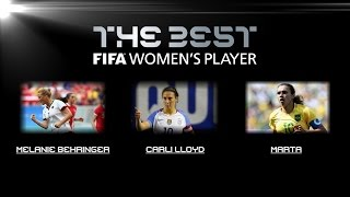 Download The BEST FIFA Football Awards™ - Women's Player nominees Video