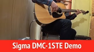 Download For Sale - Sigma DMC - 1STE Guitar Demo Video