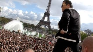 Download PSY GANGNAM STYLE Paris live flashmob at Trocadero with Cauet (NRJ) 파리 강남스타일 5.11.2012 Video