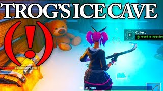 Download Trog's ice cave LOCATION, Fortnite Fortbyte 49 Video