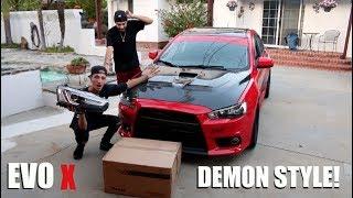 Download EVO X DEMON STYLE HEADLIGHT INSTALL! Video