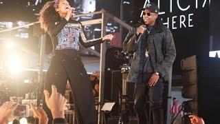 Download Alicia Keys & Jay Z - Empire State of Mind LIVE (HERE in Times Square) 2016 Video