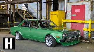 Download V8 Swapped 70s Cressida With a Madman Behind the Wheel Video