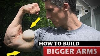 Download How to Get Big Arms - MUCH FASTER!! (Triceps and Biceps) Video