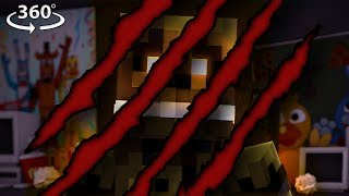 Download 360° Five Nights At Freddy's BREAK IN! - Springtrap's DEMISE! #6 - Minecraft 360° Video Video