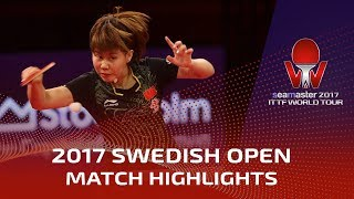 Download 2017 Swedish Open Highlights: Ding Ning vs Chen Xingtong (Final) Video