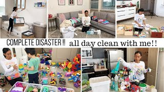 Download COMPLETE DISASTER CLEANING MOTIVATION // CLEAN WITH ME // Jessica Tull cleaning Video