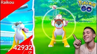 Download WORLD'S FIRST RAIKOU RAID IN POKÉMON GO! *NEW LEGENDARY* Video
