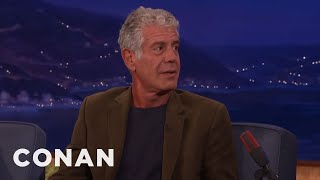 Download The Saddest Meal Anthony Bourdain Ever Ate - CONAN on TBS Video