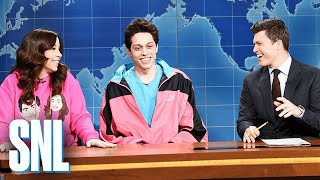 Download Weekend Update: Pete Davidson on Living with His Mom - SNL Video