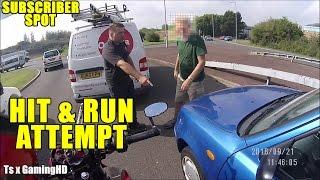 Download Motorcycle Hit & Run : Van Man Saves The Day! Video
