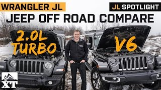 Download JL Turbo vs V6 Offroad compare | Which jeep Wrangler JL Engine is Best? Video