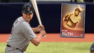 Download 99 Babe Ruth Is On The Team! MLB The Show 18 | Franchise Mode Gameplay #2 Video