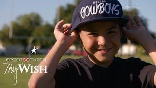 Download Dak Prescott Meets Raymond | My Wish | ESPN Stories Video