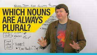 Download English Grammar & Vocabulary: Permanent Plurals Video