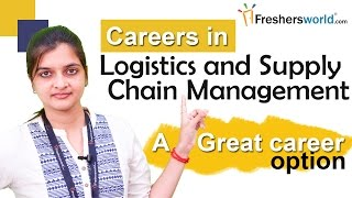 Download Careers in logistics and supply chain management - MBA, Scope, Institutions, Job Opportunities Video