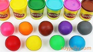 Download Learn Colors Play Doh Balls Disney Peppa Pig Molds Tayo Pikachu Ice Cream Baby Surprise Toys Video