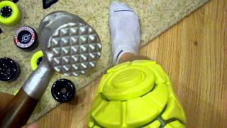 Download Silverfish Longboarding G-Form Poron XRD Knee Pads Video