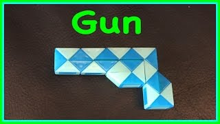 Download Rubik's Twist or Smiggle Snake Puzzle Tutorial: How to Make a Gun or Pistol: Step by Step Tutorial Video