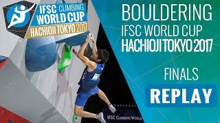 Download IFSC Climbing World Cup Hachioji-Tokyo 2017 - Bouldering - Finals - Men/Women Video