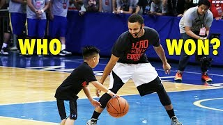Download Stephen Curry vs. 7-year old boy (2015 Manila UA tour) Video