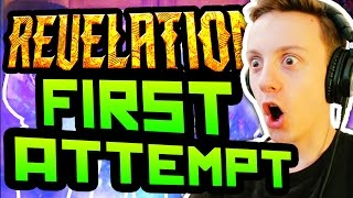 Download REVELATIONS FIRST ATTEMPT! BEST BOX LUCK EVER: Black Ops 3 Zombies Revelations Reaction Live Video