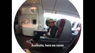 Download Nic Bishop travels home for Christmas wearing SnapChat Spectacles Video