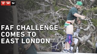 Download The Faf Challenge comes to East London Video